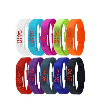 2019 Trend 품 (High) 저 (Quality 실리콘 Watch Silicone Rubber 팔찌 Bracelet