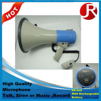 Handheld Megaphone mini ER-66S With Rechargeable Battery Megaphone