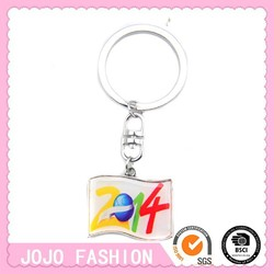 Wholesale 2014 key rings fobs