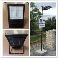 super powerful day night sensor led solar dusk to dawn flood light