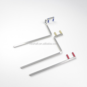 dental x-ray positioning stainless steel colored aiming arm,Anterior Arm,Bitewing Arm,Posterior Arm