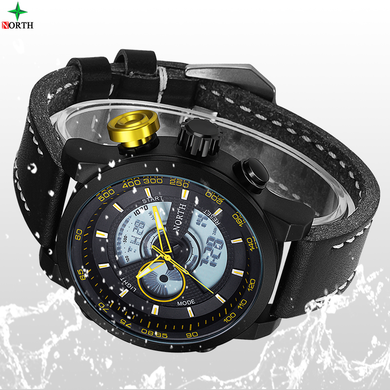 2016 Waterproof Sport Digital LED Watches Men Relojes Hombre Digital Watch Brand Men Luxury Military classic quartz watch