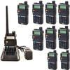 10x Baofeng BF F8+ Walkie Talkie 5W 128CH VHF UHF DTMF VOX FM Radio Two Way Radio