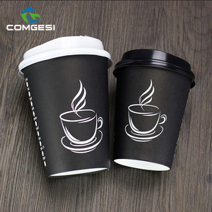Design Paper Cups_Brand Logo Printed for Hot Drinks_Personalized Coffee Paper cups