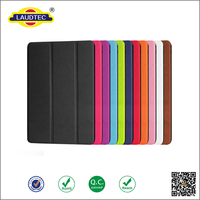 Folding PU Leather Case With Stand For Ipad Mini 4