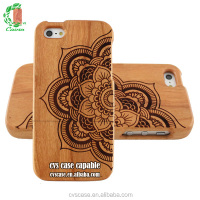 Wood /Bamboo Engrave Newest Popular 3D Phone Case For Iphone 6s Case.