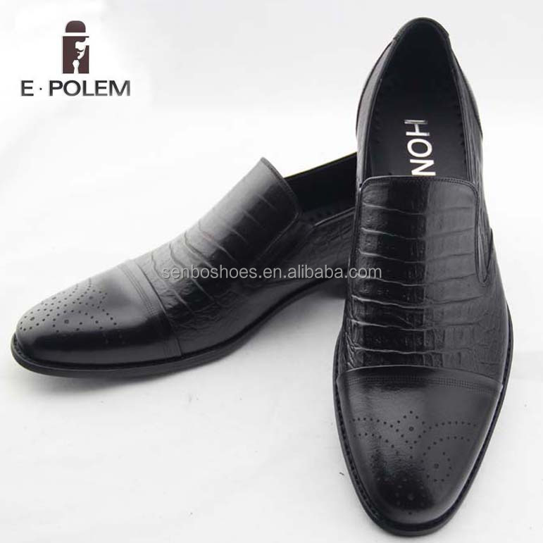 High Quality fashion wedding dress men's shoes