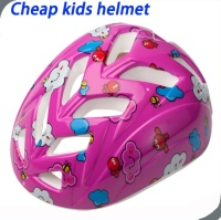 sky blue out-mold PVC toddler boy bike helmet,cheap small pink cross child safety bicycle helmet for kids
