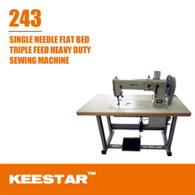 Keestar 243 flat bed single needle bernina sewing machine