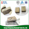 sharpness without chipping diamond tool for stone processing