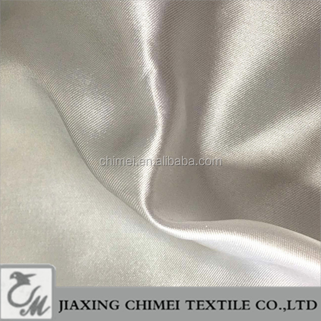 100% silk satin fabric for garments, dresses , shirts