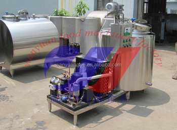 Hot sell vertical milk cooling tank 1000L