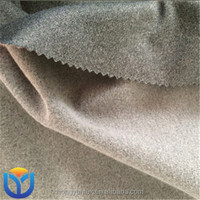 Grey Super Poly Heather 100% Polyester Fabric