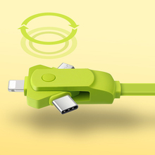 Custom transfer data multi-function usb charger cable 3 in 1 usb cable