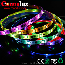 factory wholesale cheap LED strip light, DC12V color changing LED string light SMD5050 5m/roll
