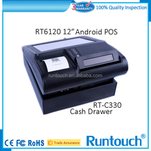 Runtouch RT-C330 New Free top cash drawer, supermarket money box with 4 bill holders