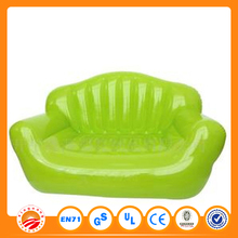 Popular colorful Inflatable PVC singel sofa transparent inflatable sofa