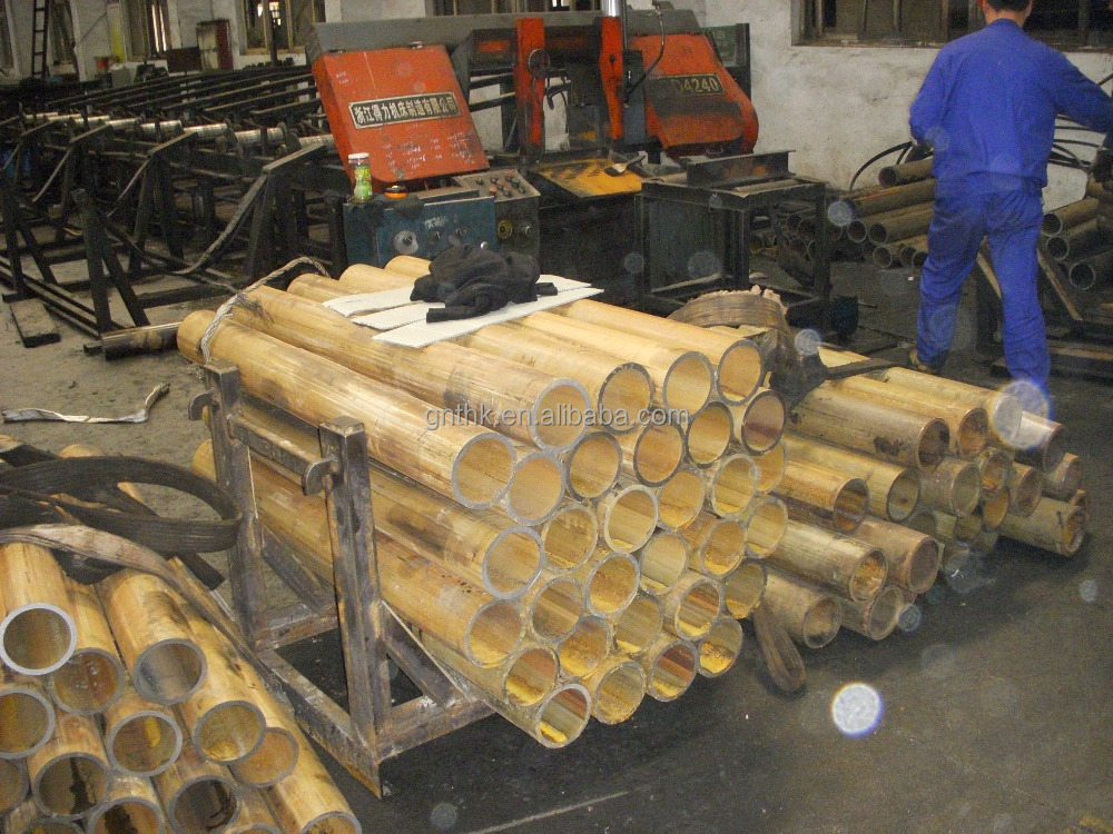 Damper steel tube