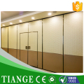 Auditorium Interior Wooden Acoustic Movable Partition Acoustic Mobile Partition for Hall