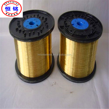 Brass coated steel wire for rubber hose BP60 spool