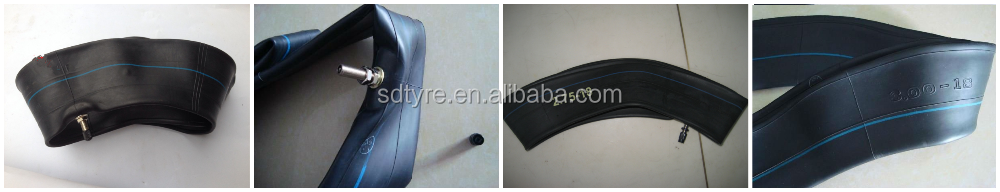 Manufacturer wholesale butyl rubber motorcycle inner tube 3.00-17 made in China