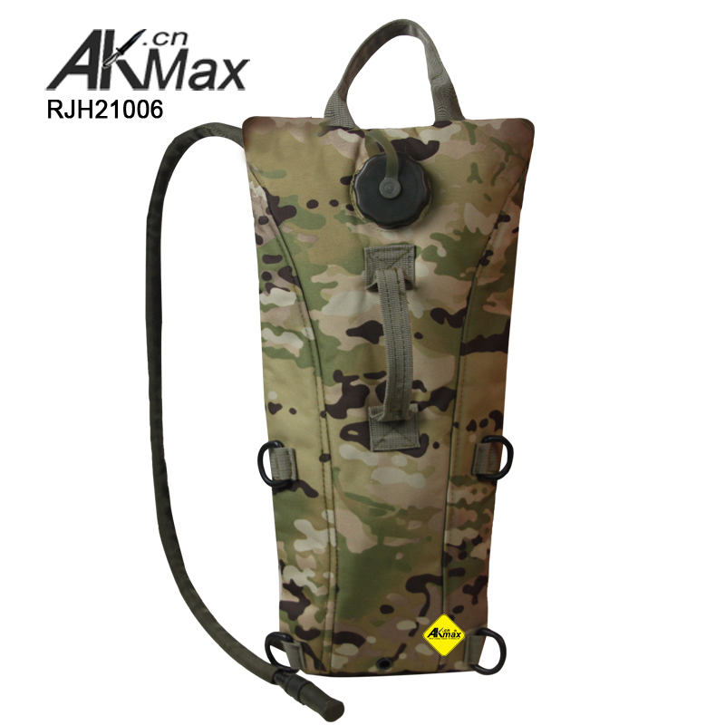 Multicam military 3L hydration backpack with bladder