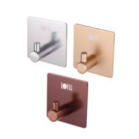 wall mount bathroom bronze coat robe towel hook