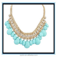 XP-MP-099390 FACTORY PRICE Statement necklace indian seed bead necklace