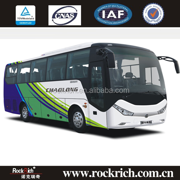 35 seater long luxury bus color design/bus air suspension