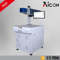 Aicon Laser 10w 30w 60w co2 vin number marking machine used