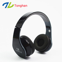 Custom headphone logo sport wireless headphone MP3 support SD card