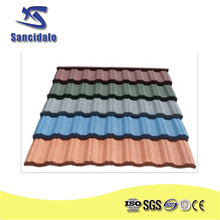 New Arrival Product Zinc Roof Tiles Zimbabwe --- Stone Coated Metal Roofing Tile