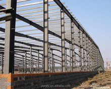 Hot Sale! New Product H steel structure L shape warehouse for producing line equipment