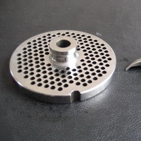 stainless steel meat grinder plate and knife