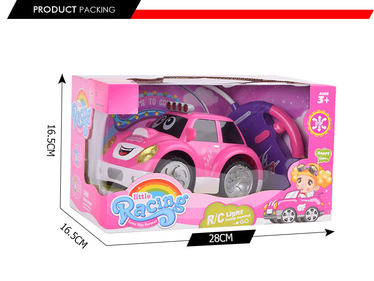 best selling 4ch lovely pink remote controlled car most popular toys for kid 2017