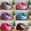 Pet nest dog kennel cat litter nest mini candy-colored doll bed