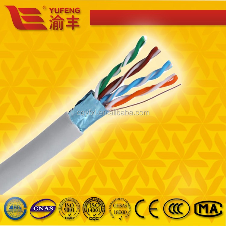 High performance RJ45 8P8C spiral network LAN cable