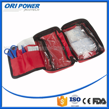 OP manufacture FDA CE ISO approved nylon auto emergency first aid kit