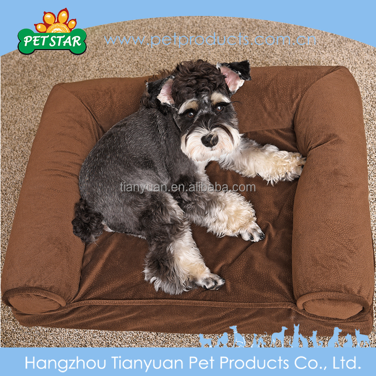 Customized Cheap Soft Plush cute dog bed