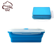 Top quality food warmer silicone school lunch box for kids