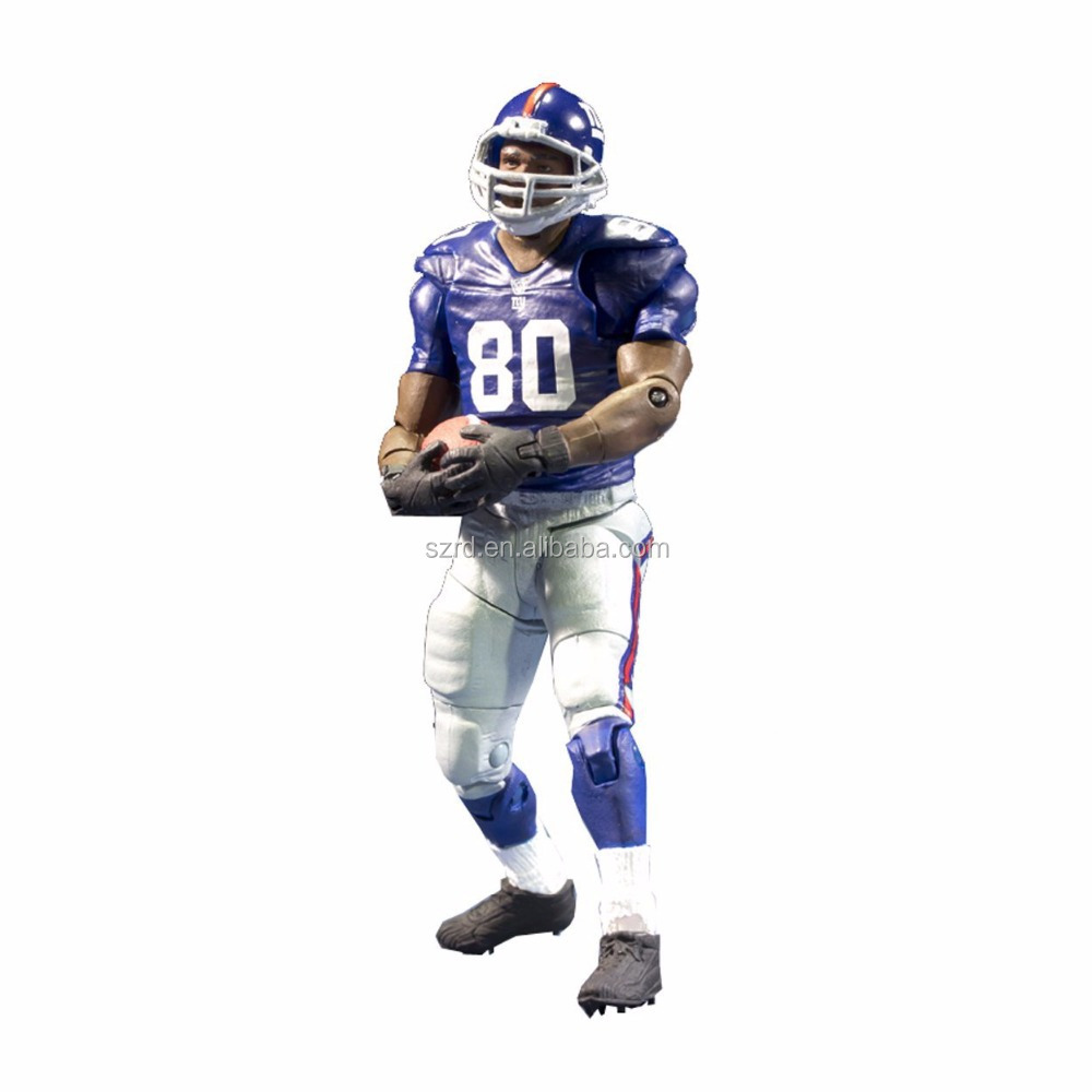 Articulated matt custom football player action figures