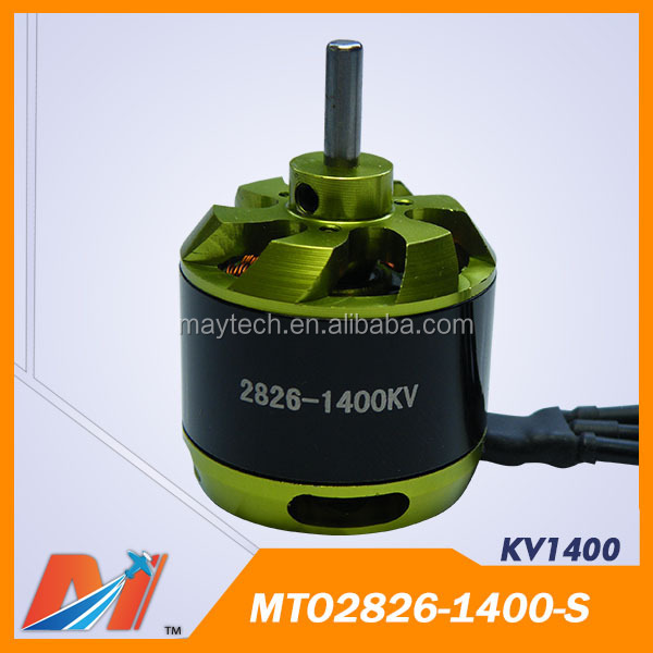 Maytech brushless Electric dc Motor 2826 1400 KV Rc Helicopter Spare Parts