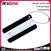 Free samples metal plate with rhinestones for luggage tag