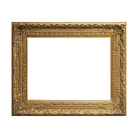 Large Size Gold/Silver Vintage Picture Frame for Paintings