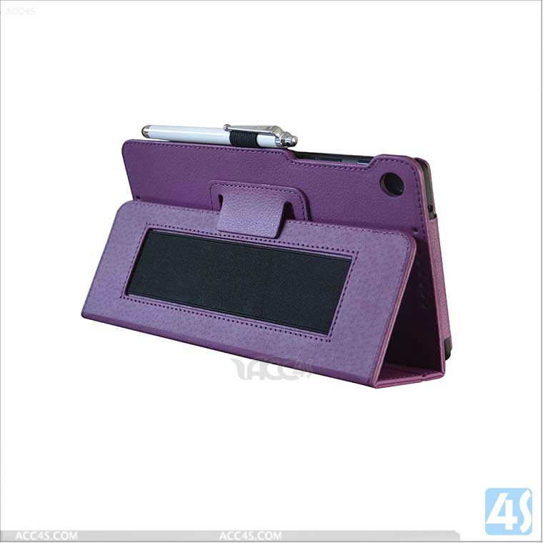 High quality ultra thin PU leather magnetic smart cover case for Google Nexus 7 II 2nd P-GGNEXUS7IICASE003