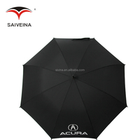 top strong materials light weight big golf umbrella with printed part