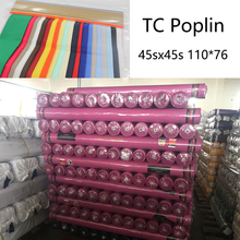 Factory Direct TC Poplin Fabric