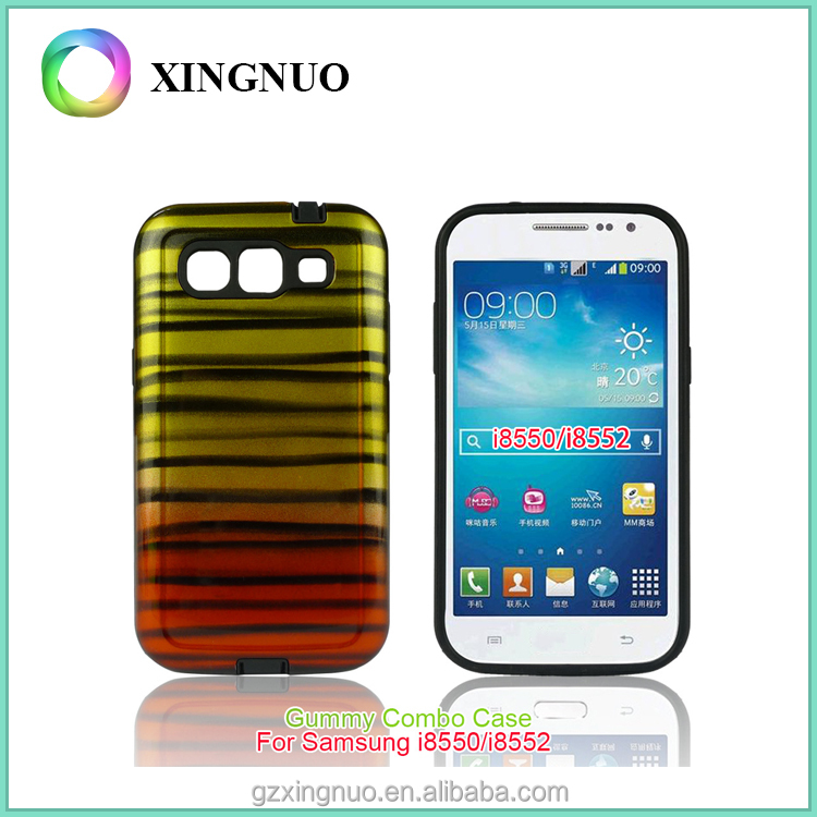 custom color printing printed shockproof hard phone case for Samsung galaxy win I8550 I8552