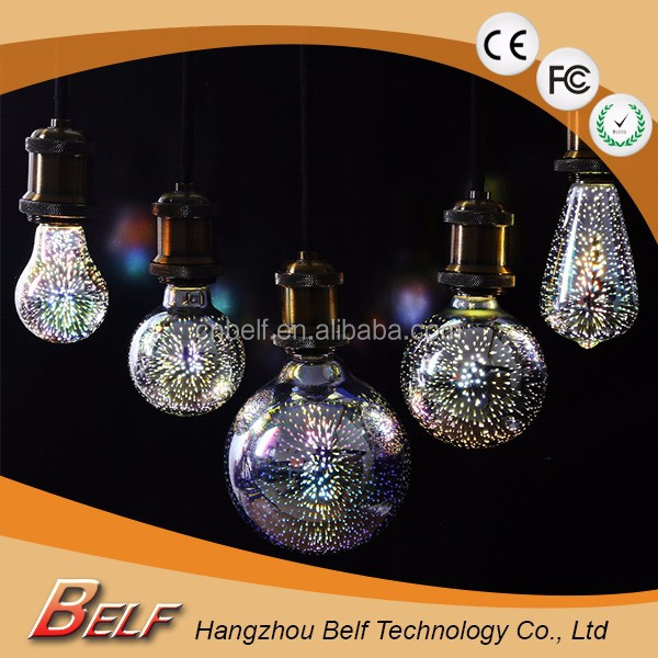 New Edison Vintage E27 Decorative LED Firework Lights Christmas Bottle Led String Light