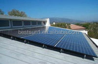 3kw Hot design solar panel wall mounting systems (inverter+controller+battery+pv combiner)